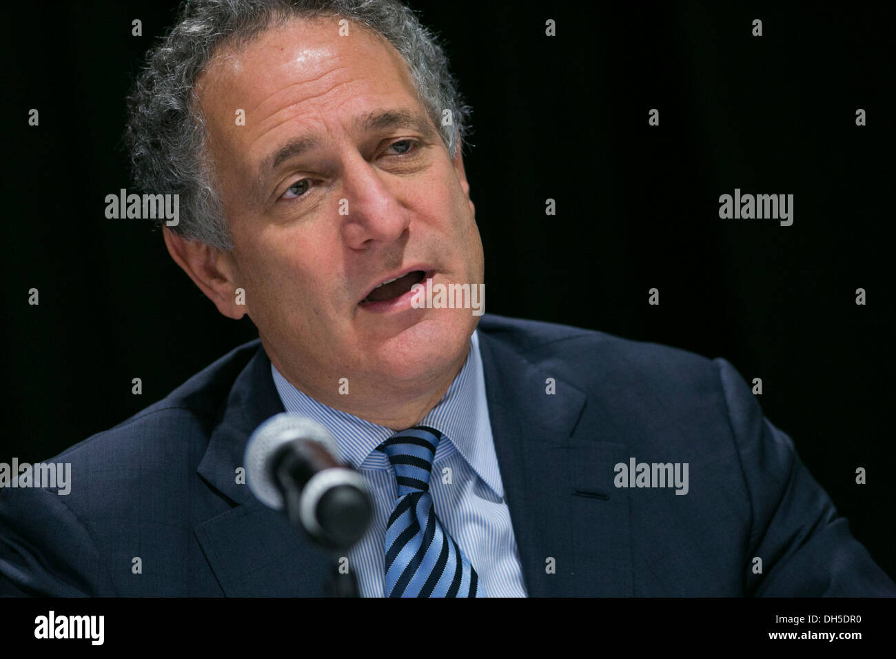Dan Doctoroff, CEO of Bloomberg L.P. - Stock Image