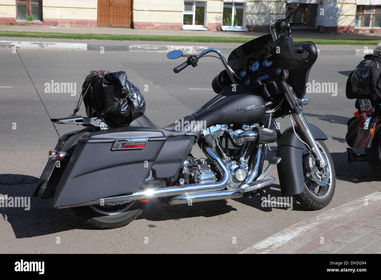 Harley Davidson Stock: Customized Harley Davidson Sportster Stock Photos