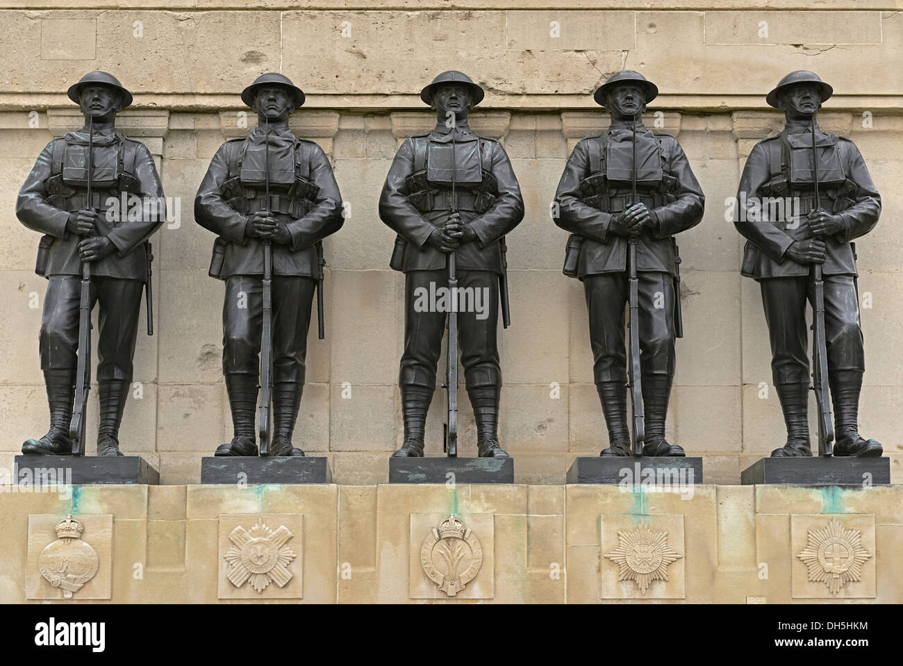 The Guards Memorial, Horse Guards Parade, London, UK. A First World War Memorial to the Fallen of the Guards Division. - Stock Image
