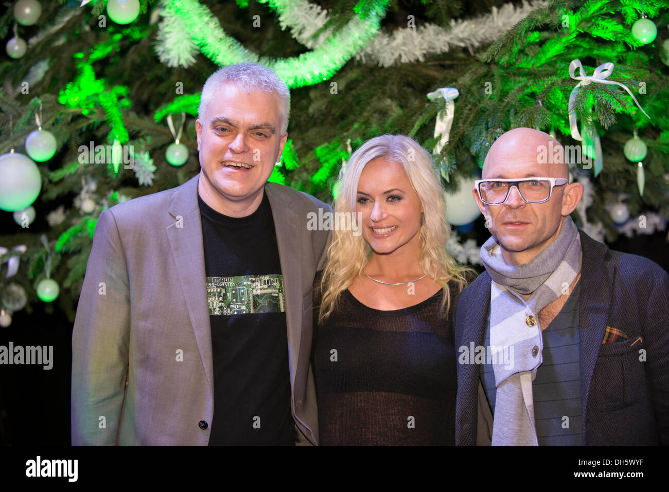 the gadget show live christmas earls court london jon bentley pollyanna woodward and jason bradbury of channel 5 gadget show at the opening of the - Christmas Pollyanna