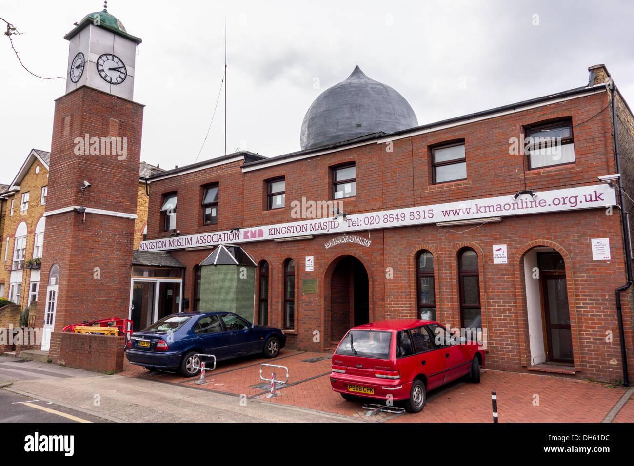 Kingston Muslim Association, Kingston upon Thames, London, UK - Stock Image