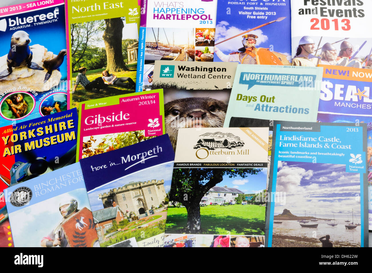 how to prepare a tourist leaflet