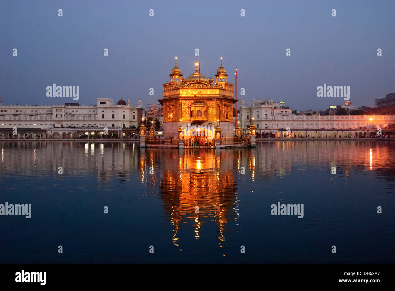 Golden Temple Amritsar Night Stock Photos Golden Temple Amritsar