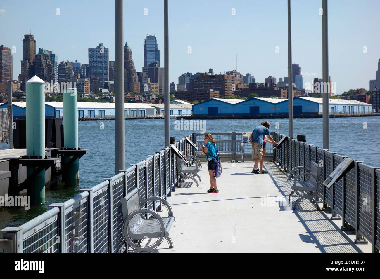 governors island ferry pier in new york city stock photo: 62226395