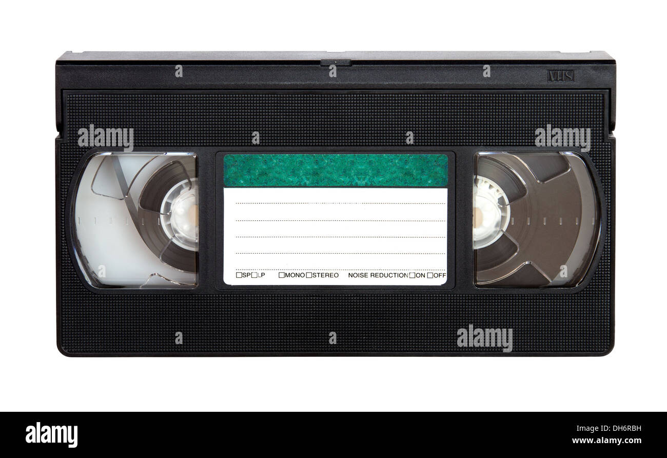 VHS video tape - Stock Image