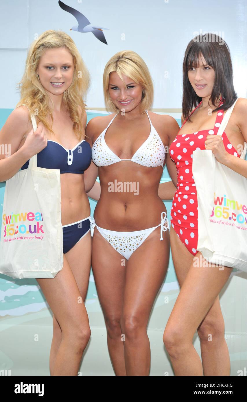 efa6b828458 Sam Faiers aka Samantha Faiers Swimwear365.co.uk - press launch held at  rthcliffe House. London, England - 14.03.12