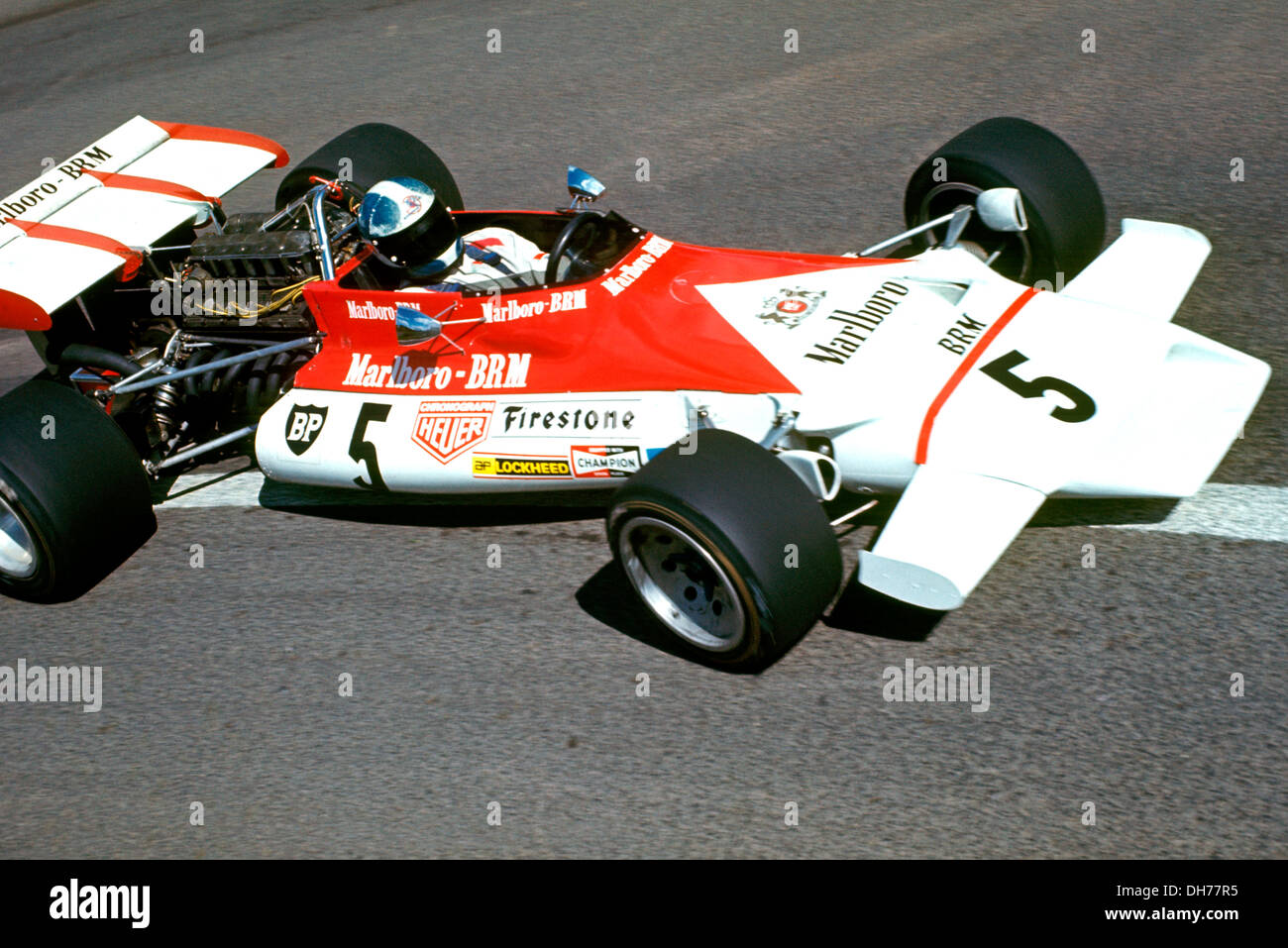 jean pierre beltoise in the brm p160b finishing 15th at the french gp stock photo 62240057 alamy. Black Bedroom Furniture Sets. Home Design Ideas
