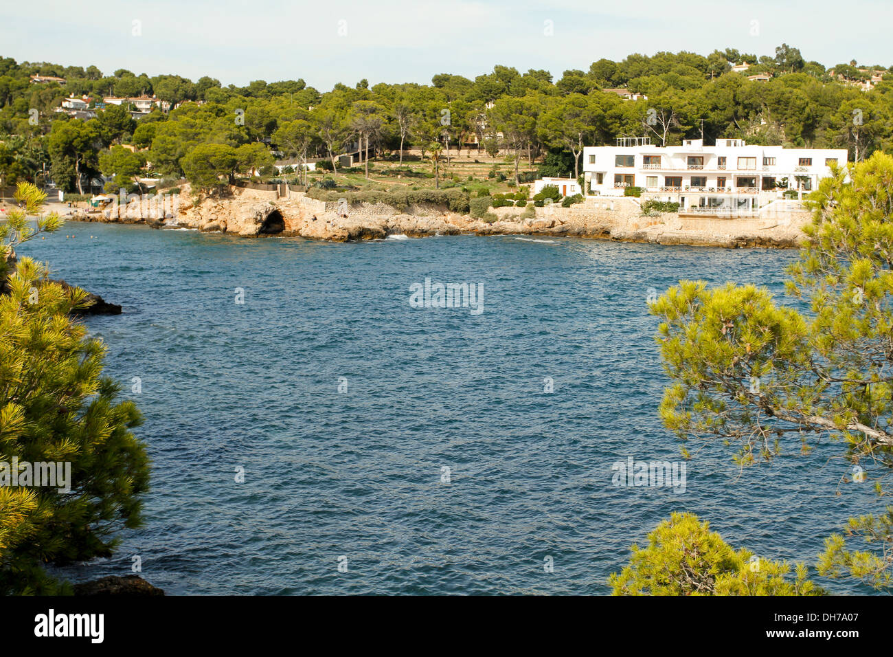Portals Nous, Mallorca. - Stock Image