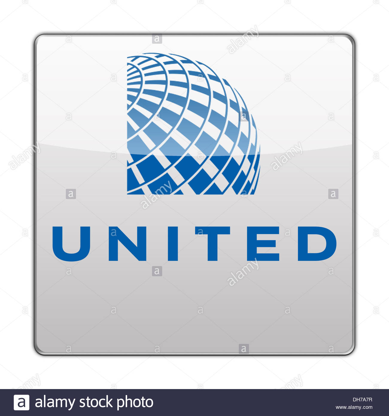 united airlines icon logo flag sign stock photo 62241979 alamy