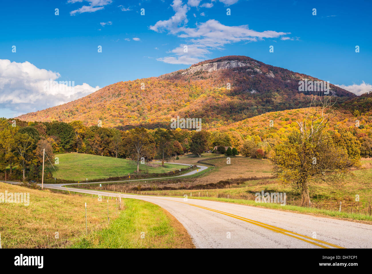 Mt. Yonah in north Georgia, USA. - Stock Image