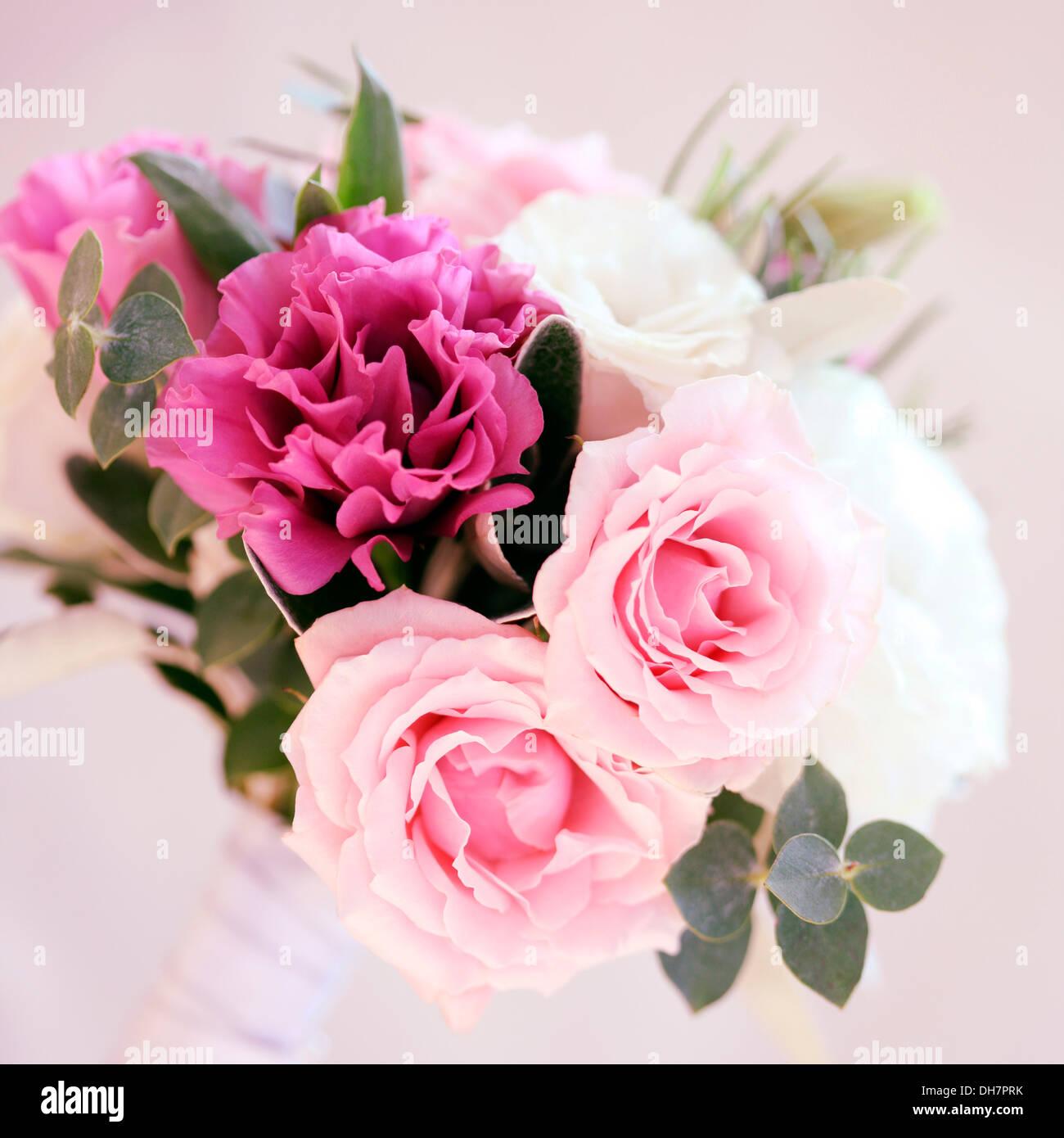 beautiful summer wedding, seasonal mixed flower bouquet Jane Ann ...