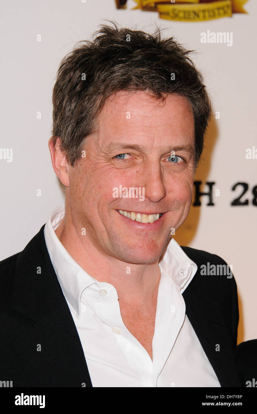 Hugh Grant Pirates! In An Adventure With Scientists - UK film premiere - Arrivals London England - 21.03.12 - Stock Image