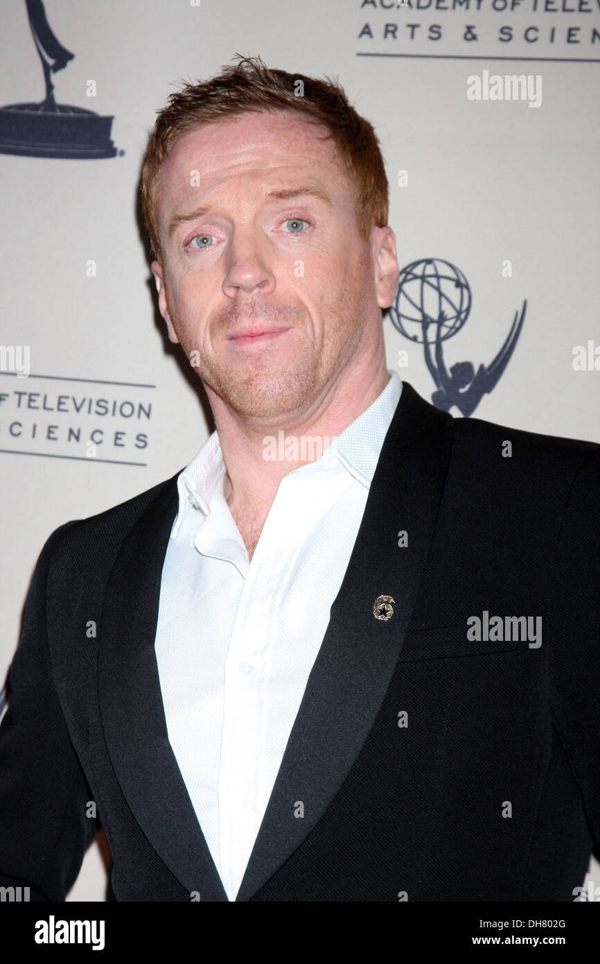 Damian Lewis arrives at 'Homeland' Panel at Academy of TV Arts and Sciences Hollywood California - 21.03.12 - Stock Image