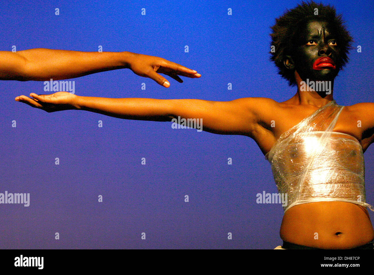 06/03/2004. FNB Dance Umbrella.Programme 9. New Moves.Wits Theatre. Johannesburg, South Africa. 'The show is not over until the - Stock Image