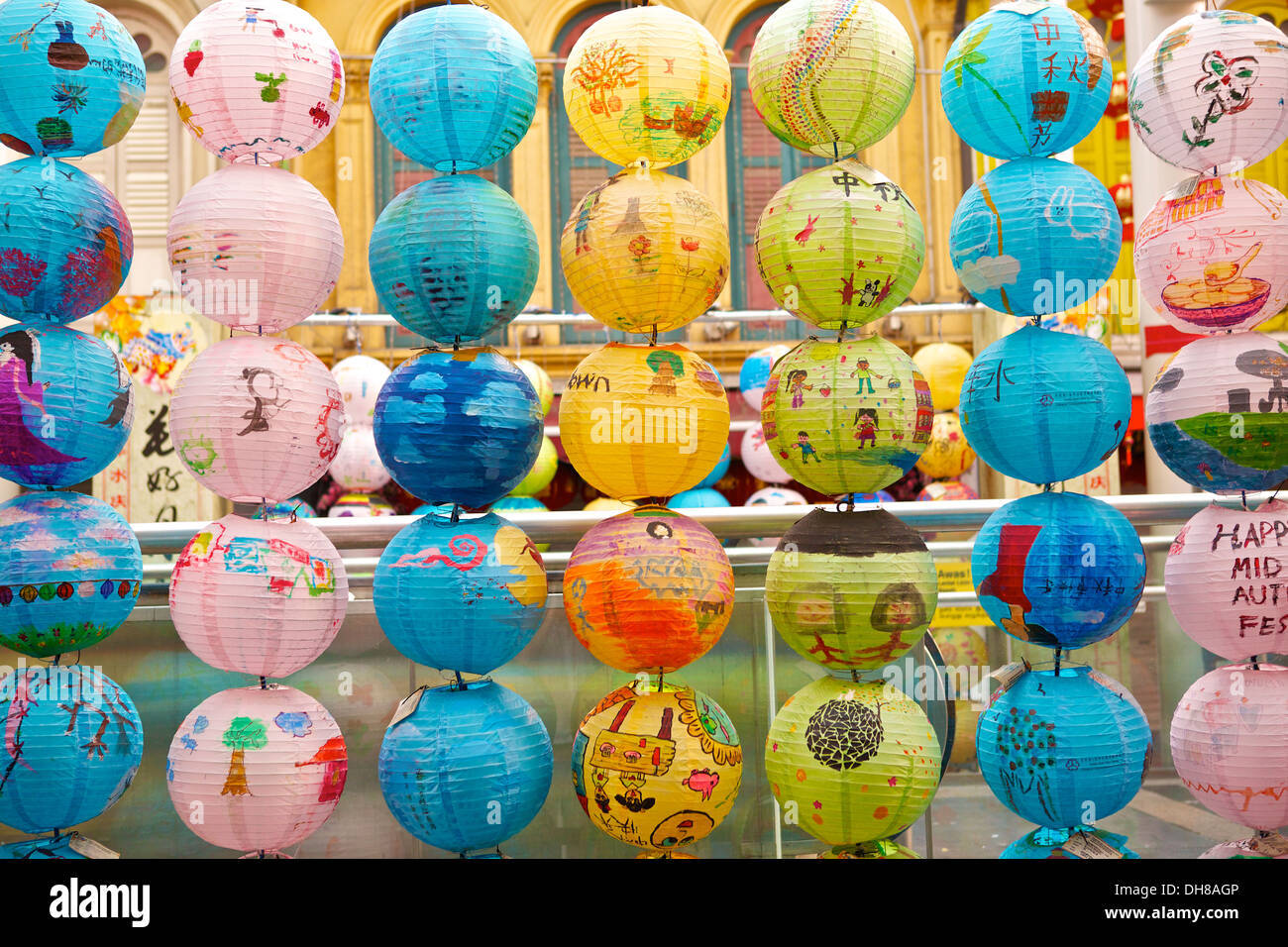 School Exhibition of Mid Autumn Festival Chinese Paper