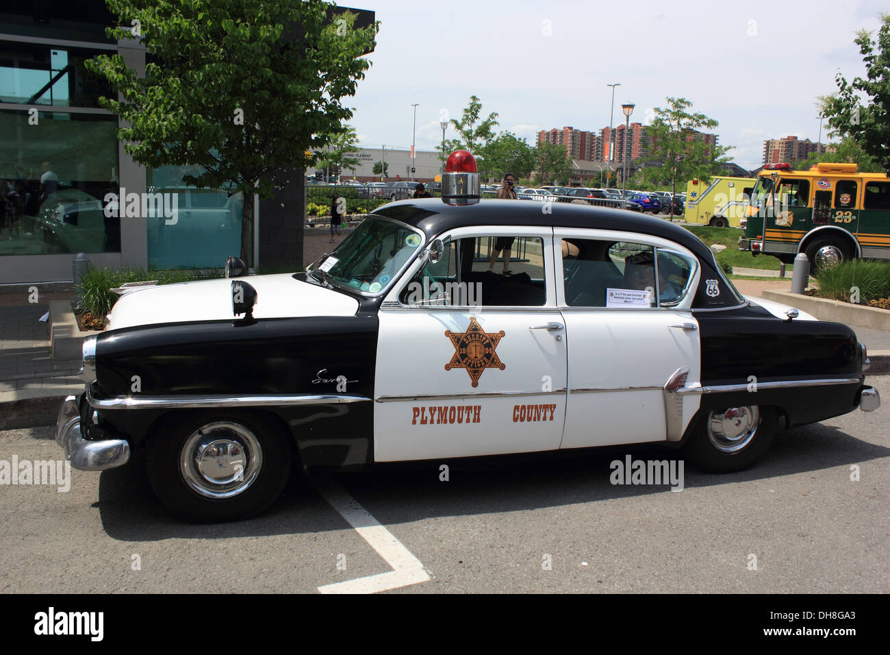 Police Car Old Stock Photos & Police Car Old Stock Images - Alamy