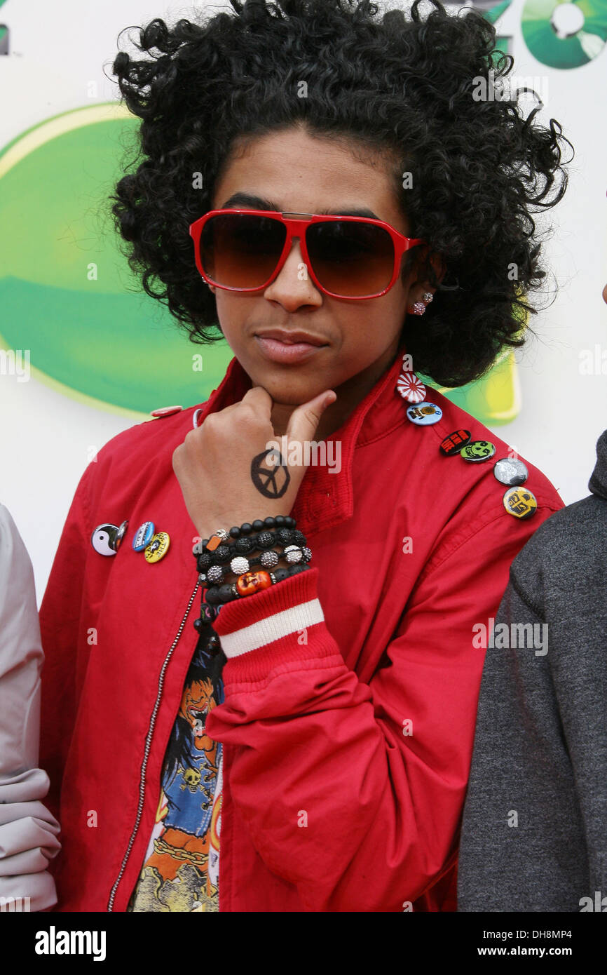 Princeton Of Mindless Behavior 2012 Kids Choice Awards Held At