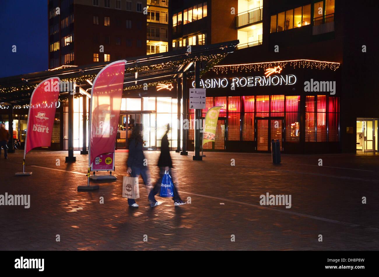 Casino Roermond Netherlands Stock Photo