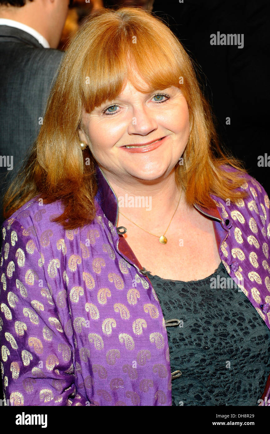 Lesley Nicol 'The King's Speech' press night held at Wyndham's Theatre - Arrivals London England - 27.03.12 - Stock Image