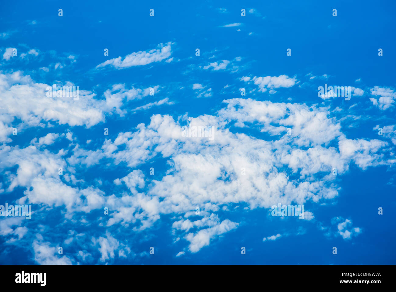 Blue sky and clouds XXL - Stock Image
