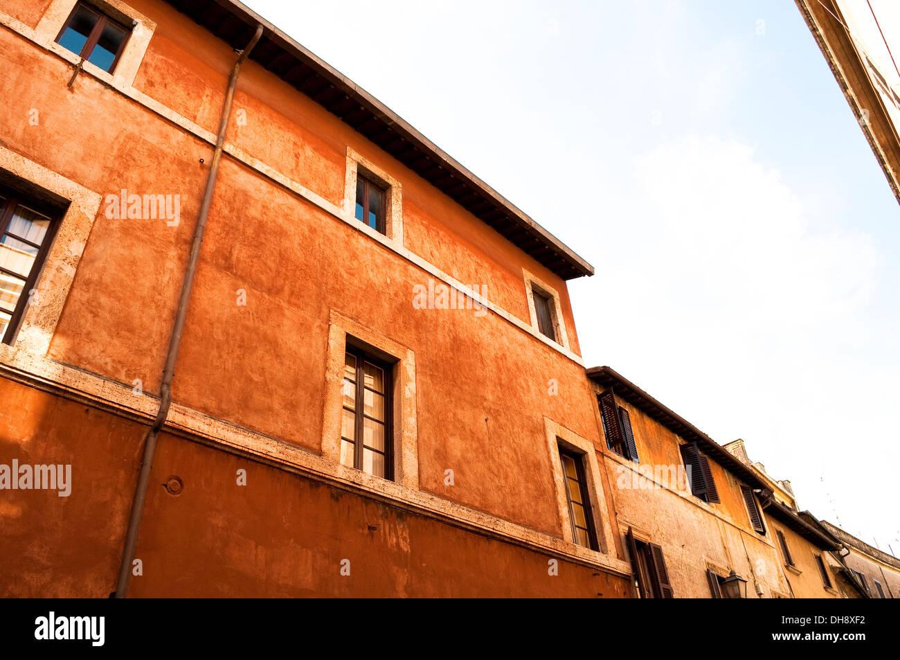 Palazzo Fucci, 15th century palace in the town centre, Tivoli, Lazio, Italy - Stock Image