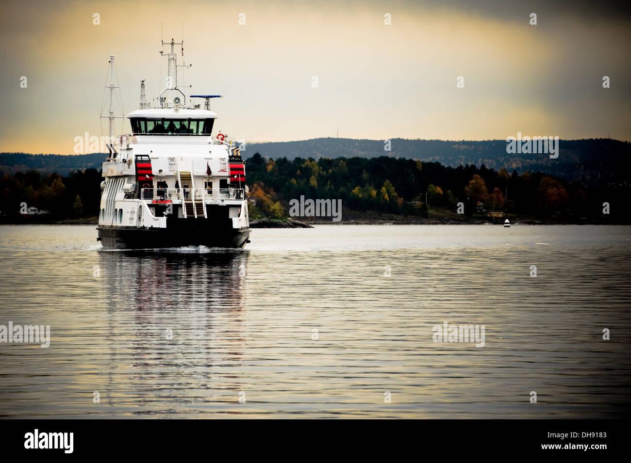 Oslo Harbour, Norway Stock Photo