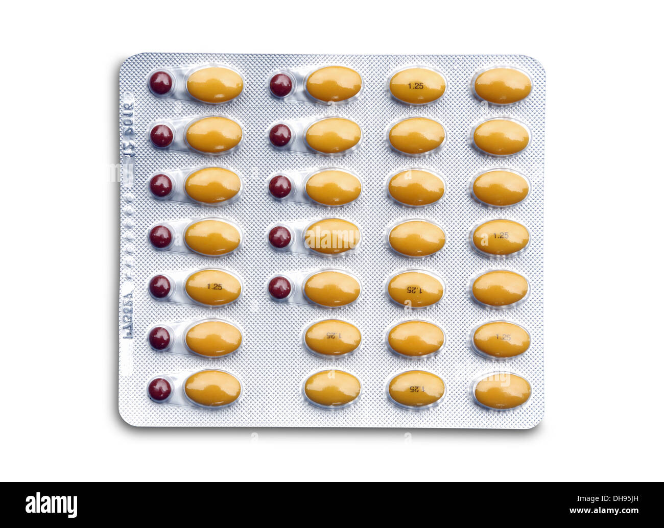 Prempak is a hormone replacement therapy (HRT) preparation. - Stock Image