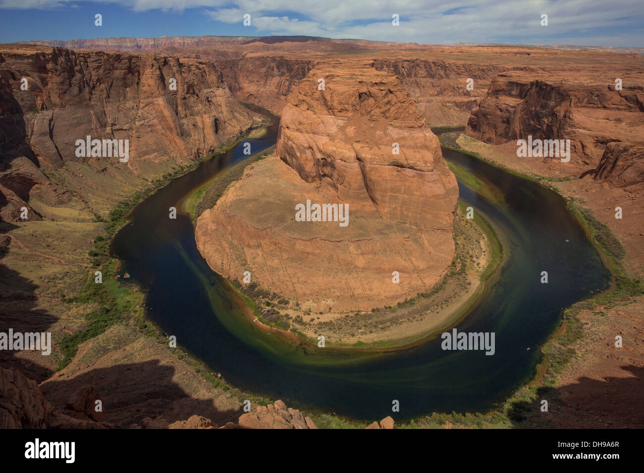 horseshoe bend, Arizona - Stock Image