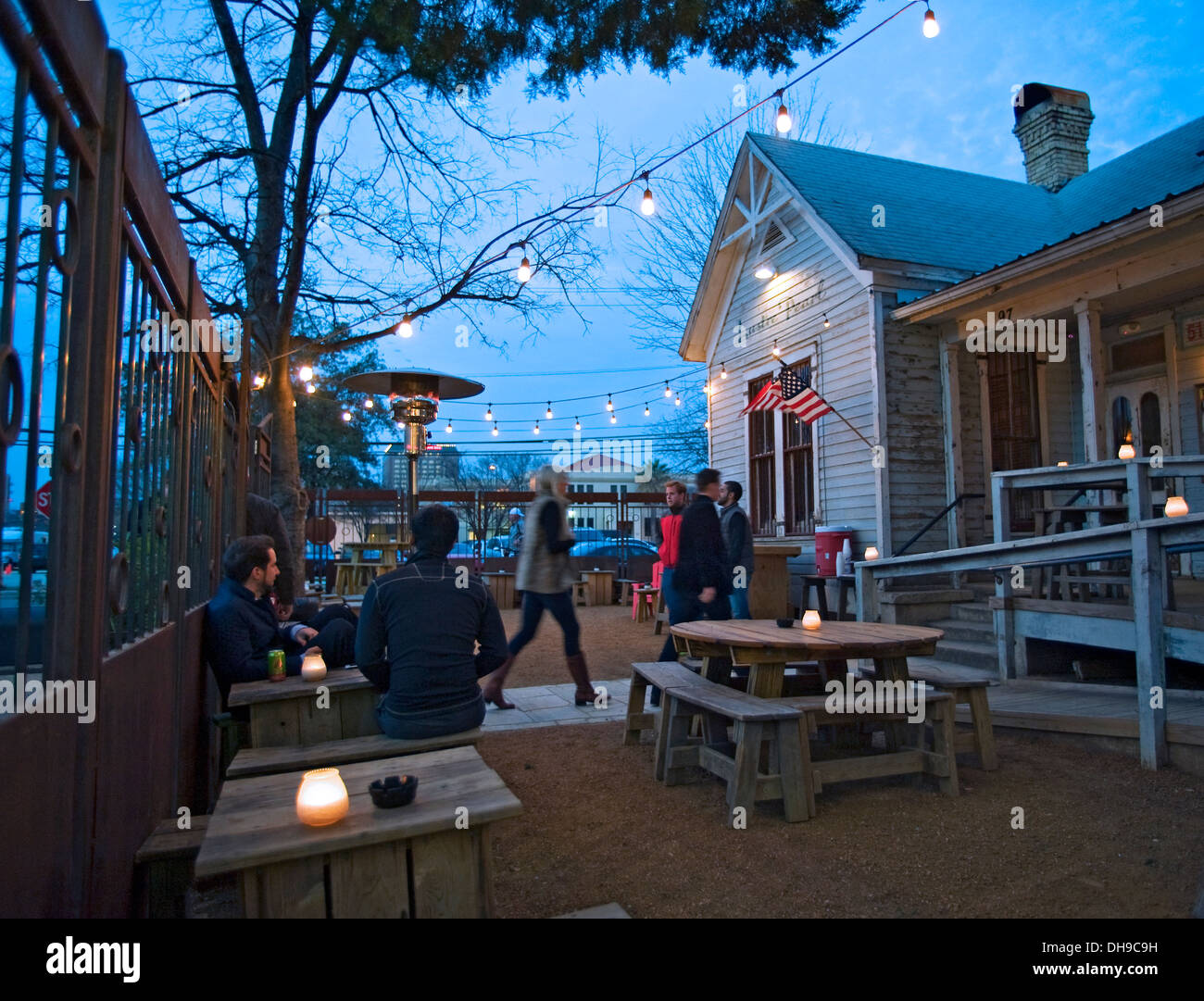 Lustre Pearl Bar, Austin - Stock Image