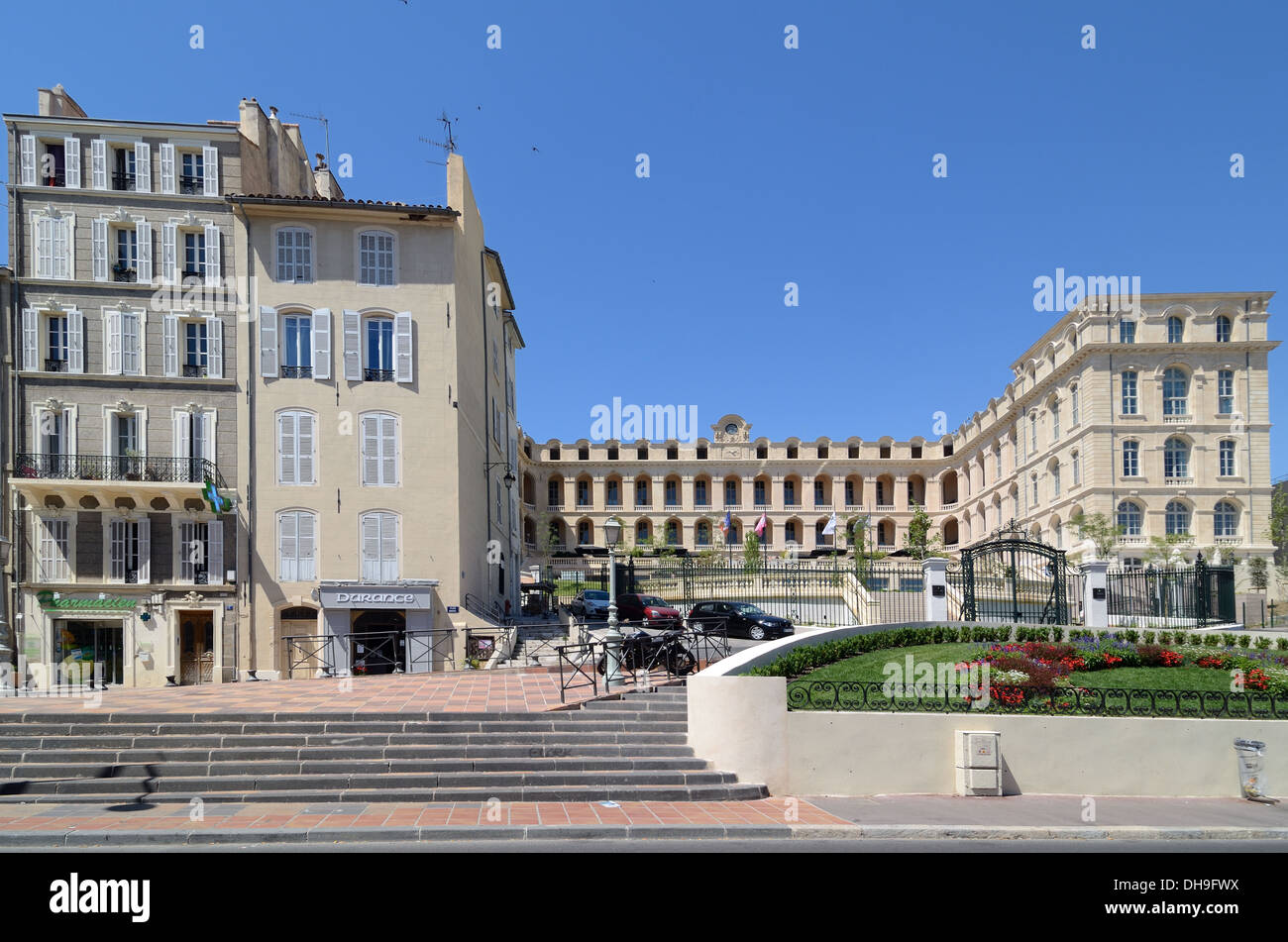 Hotel Dieu Intercontinental Panier Marseille France - Stock Image