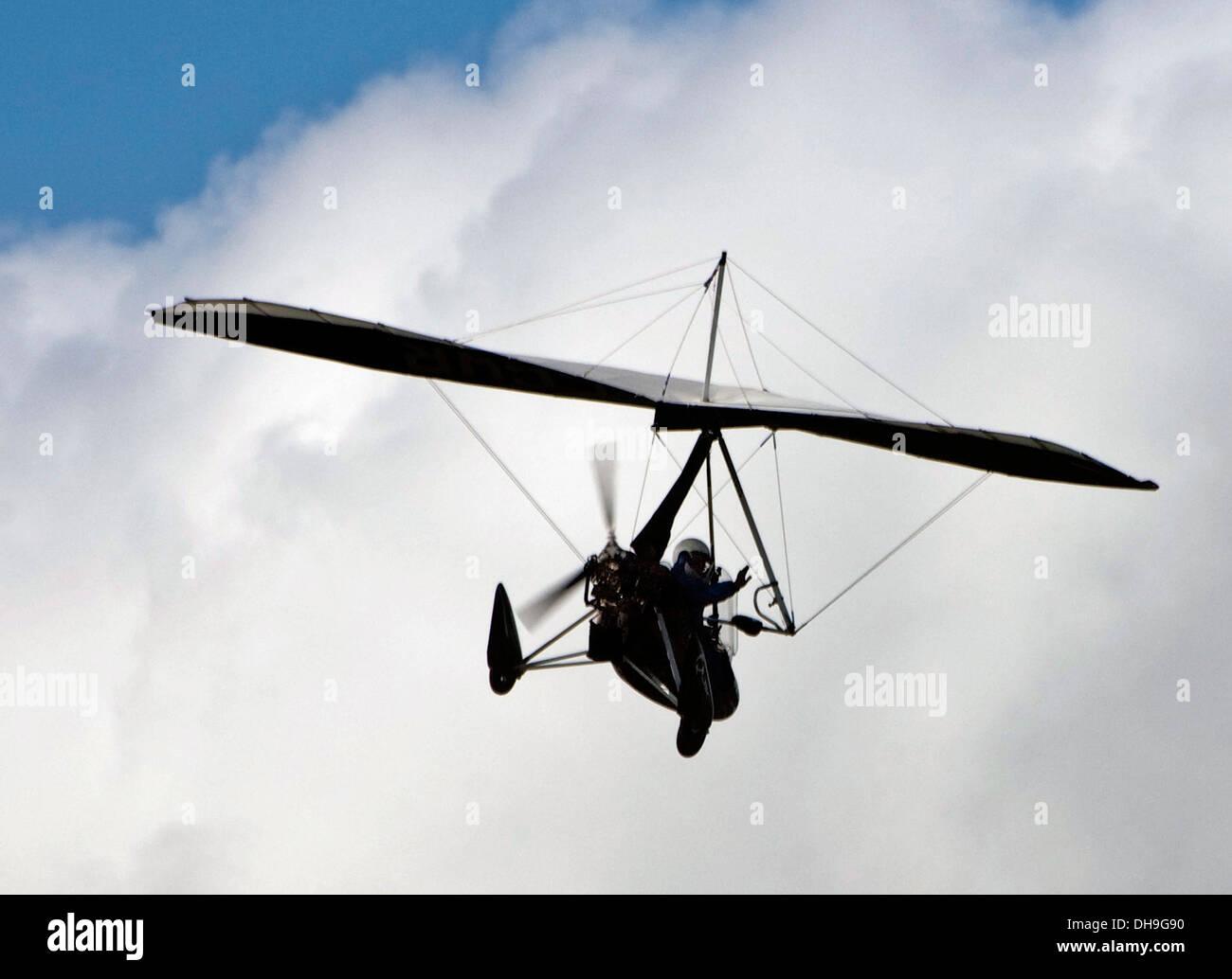 MICRO-LIGHT FLYING Power gliding over Colliford /Bodmin moor
