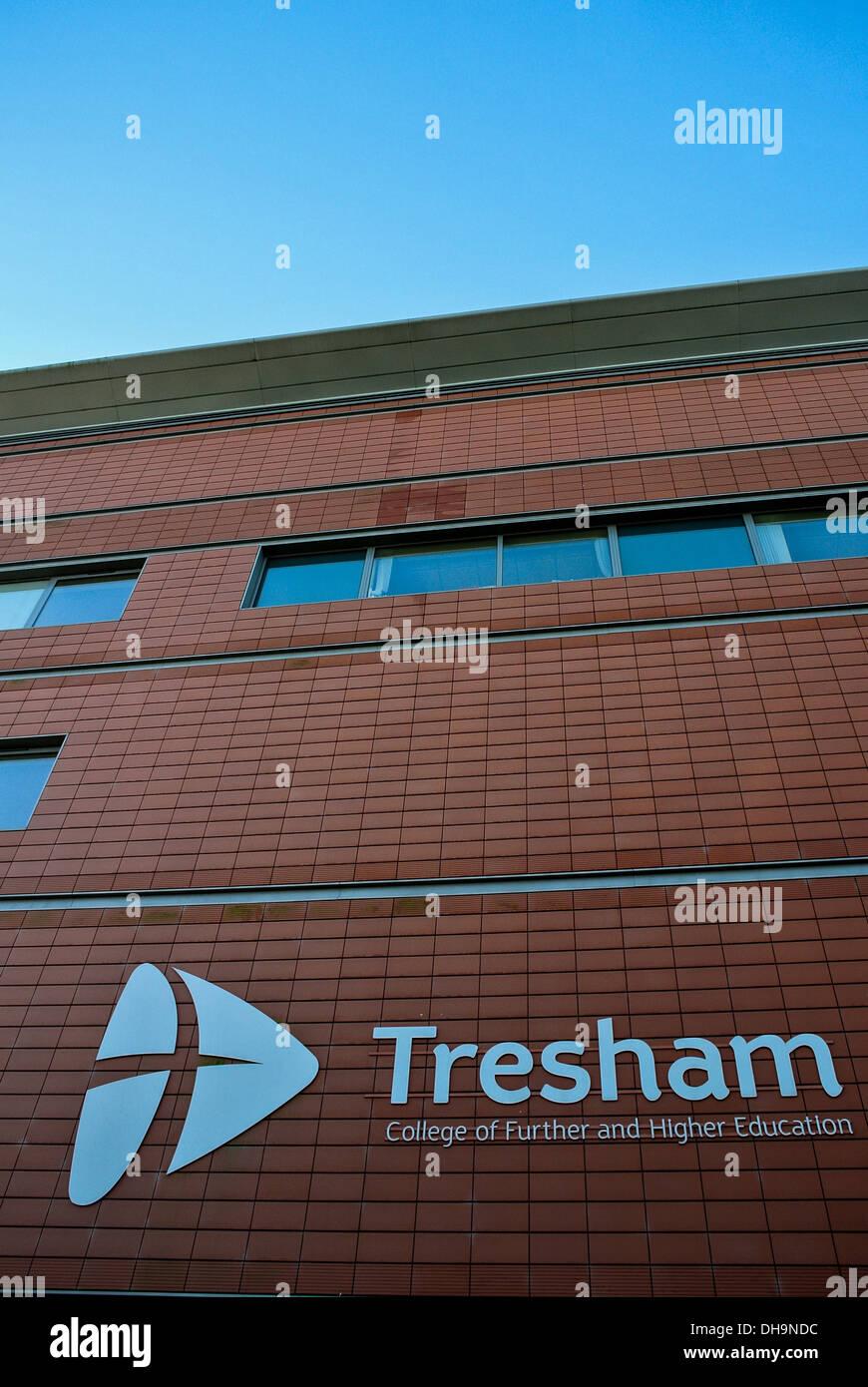 Tresham College Kettering Northamptonshire - Stock Image