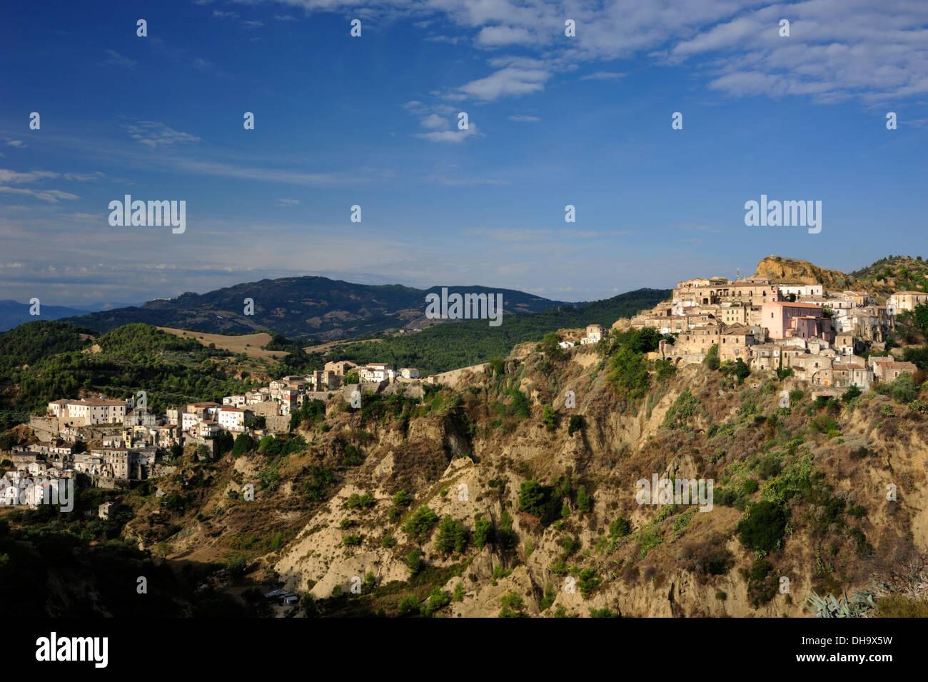 italy, basilicata, tursi, the ancient arab village called rabatana - Stock Image