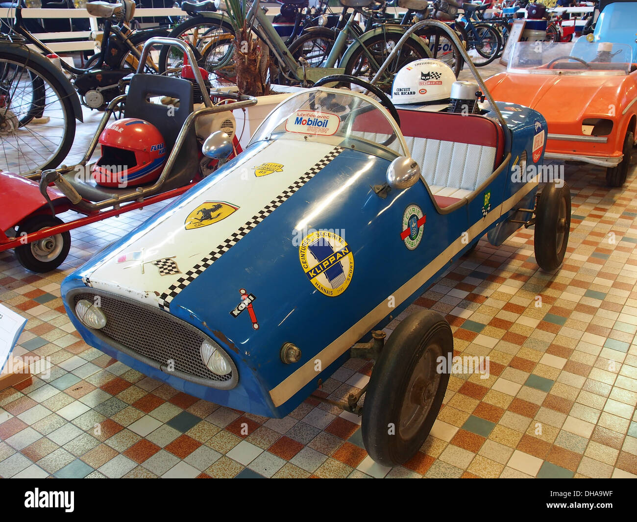 1972 Bellier Formule 85 at the museum of automobiles at Talmont St.Hilaire 1 - Stock Image