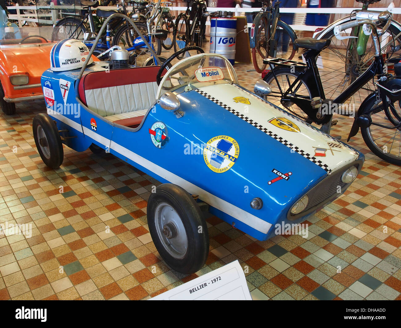 1972 Bellier Formule 85 at the museum of automobiles at Talmont St.Hilaire 3 - Stock Image