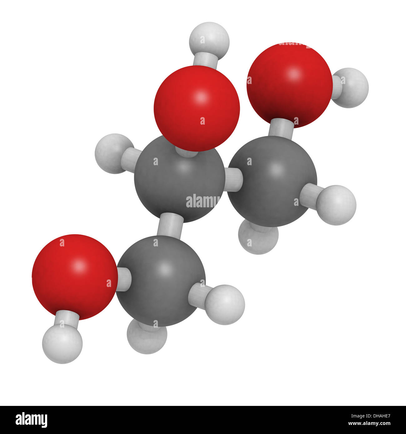 Glycerol Structure Stock Photos & Glycerol Structure Stock