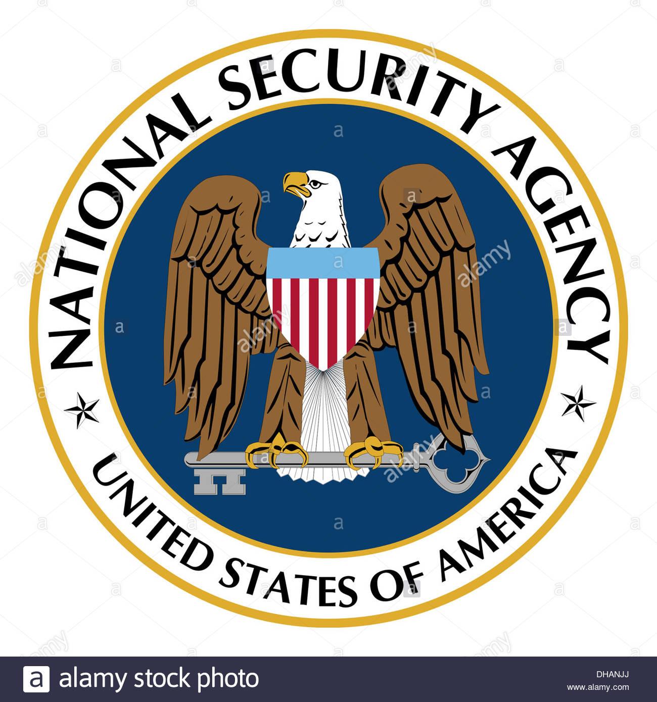 Nsa National Security Agency Logo Icon Symbol Stock Photo
