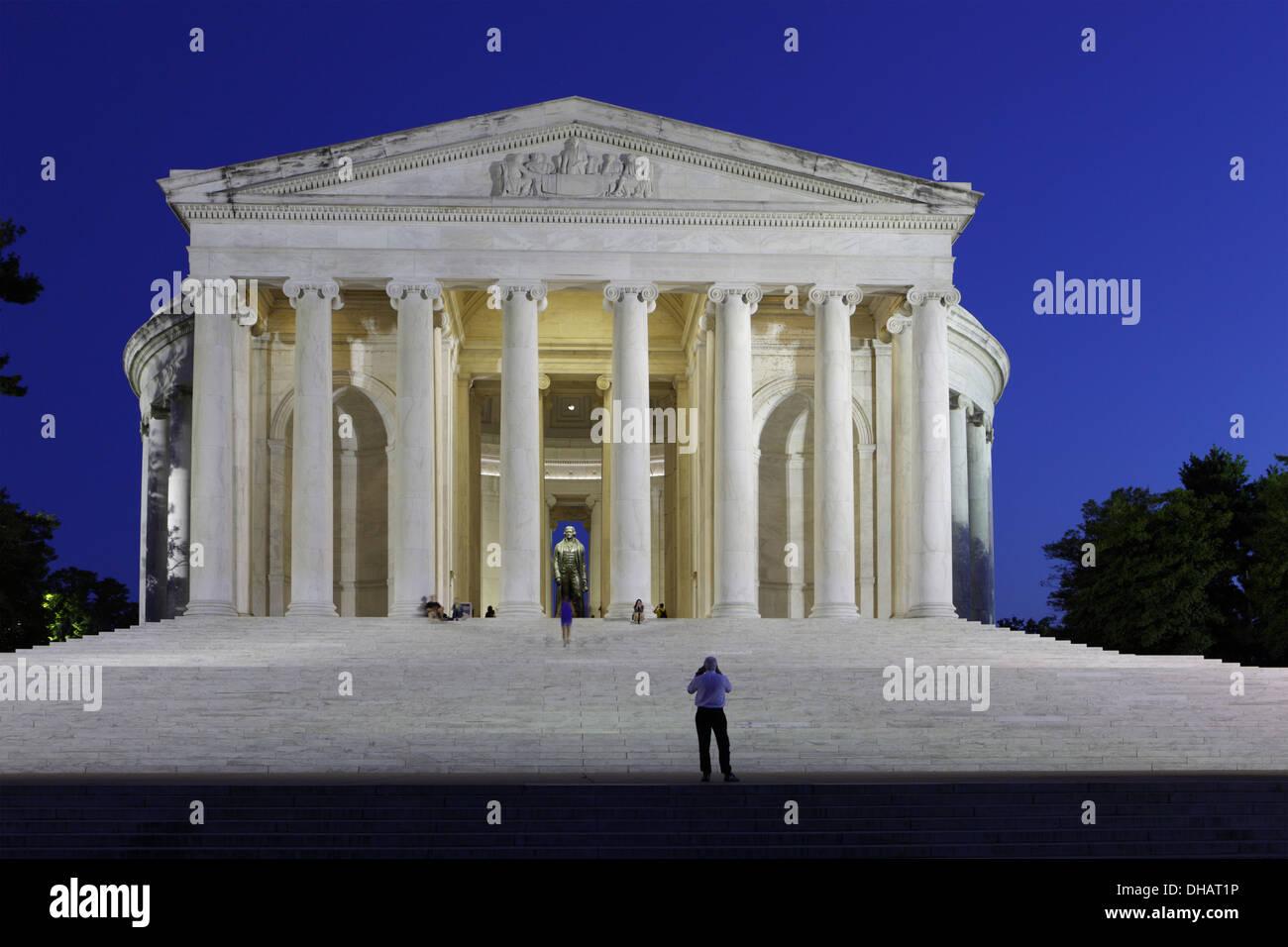 Thomas Jefferson Memorial, Washington D.C.,USA - Stock Image
