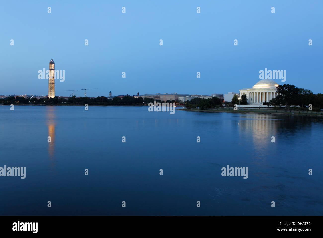 Thomas Jefferson Memorial in Washington D.C., USA - Stock Image