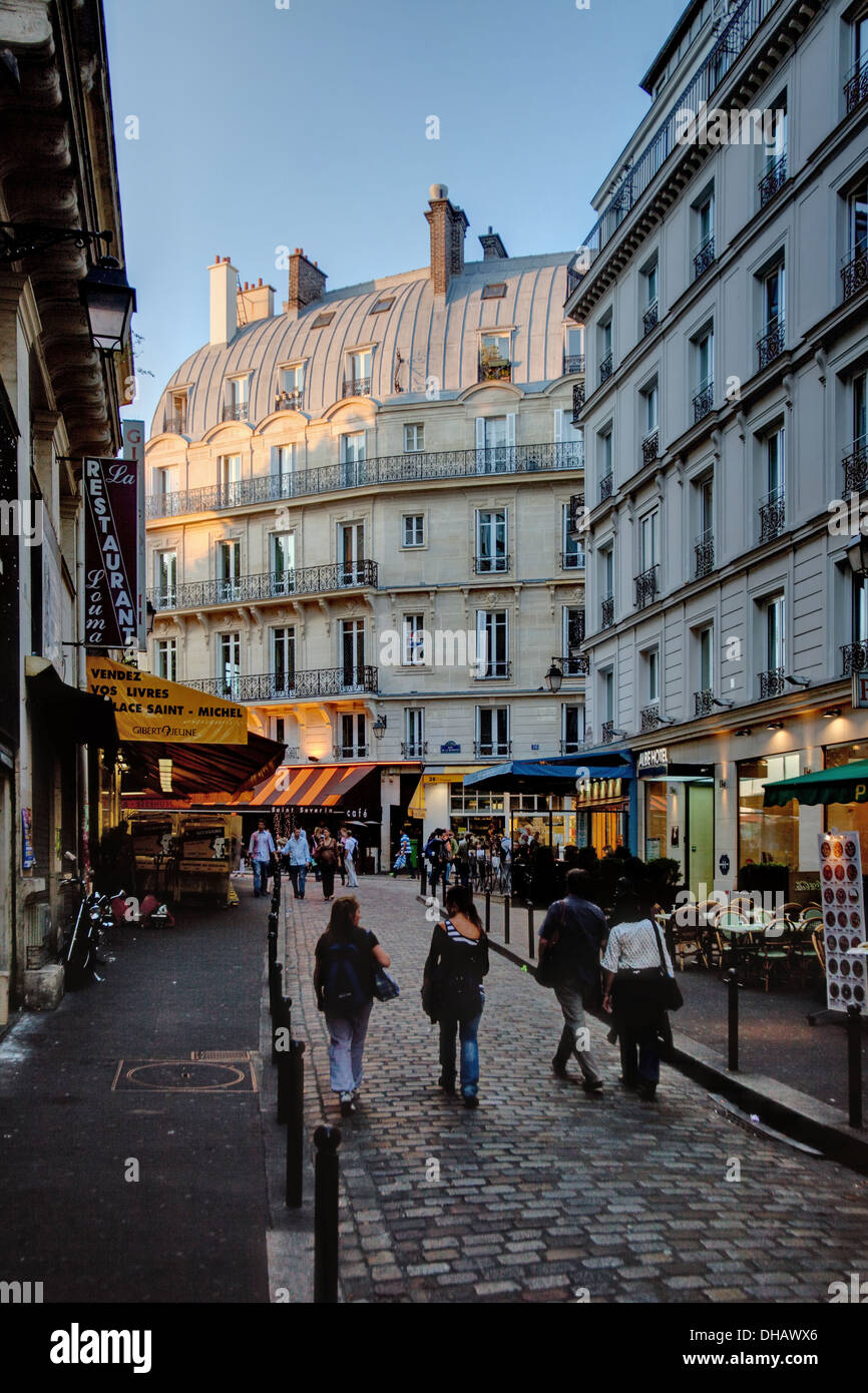 Left Bank, Paris, France - Stock Image