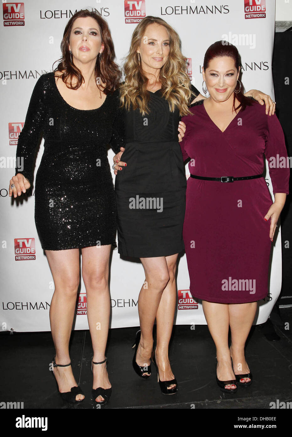 Carnie Wilson Chynna Phillips Wendy Wilson TV Guide Network's 'Wilson Phillips: Still Holding' Launch Party and CD - Stock Image