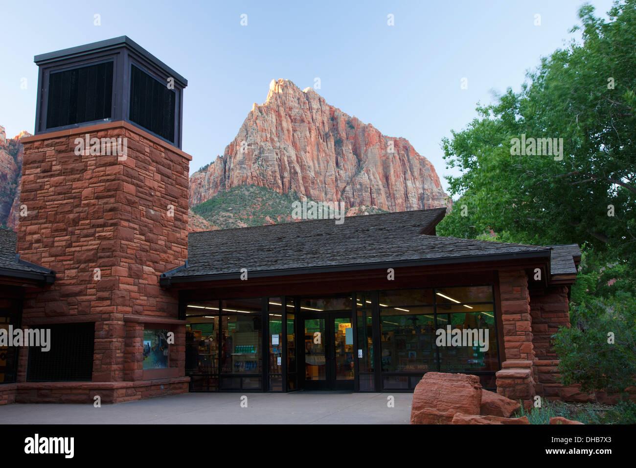 Visitor Center, Zion National Park, Utah. - Stock Image