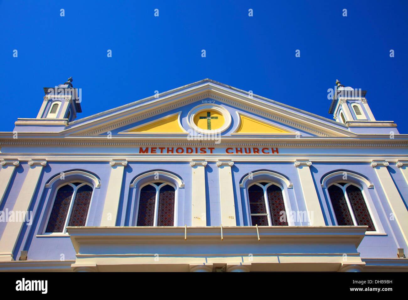 Methodist Church, St. Helier, Jersey, Channel Islands - Stock Image