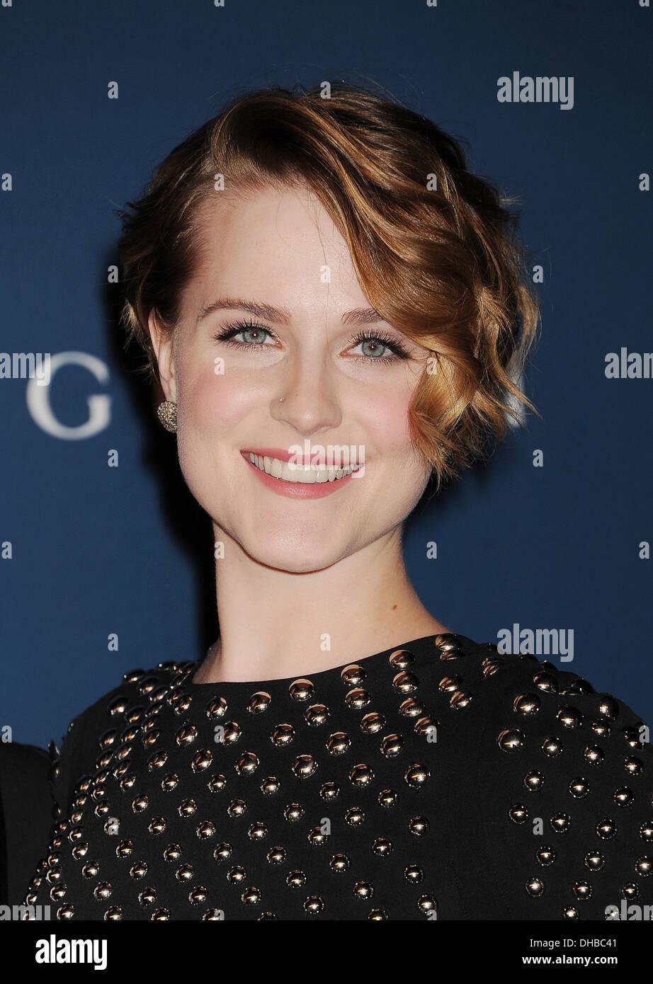 EVAN RACHEL WOOD US film actress in November 2013. Photo Jeffrey Mayer - Stock Image
