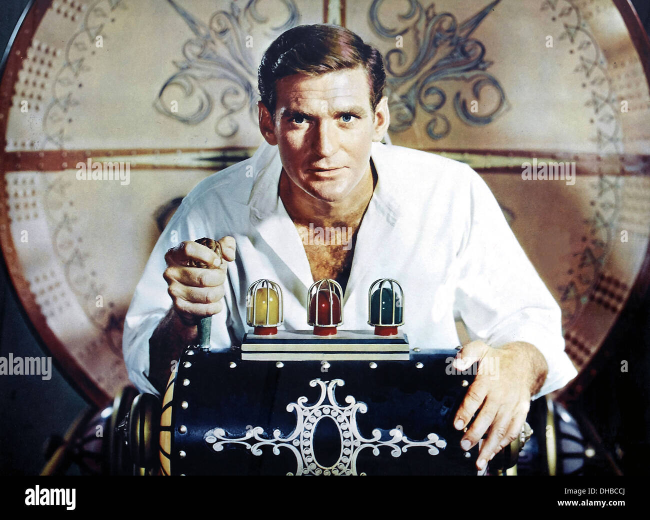 THE TIME MACHINE 1960 MGM film with Rod Taylor based on H.G.Wells's 1895 sci-fi novel - Stock Image