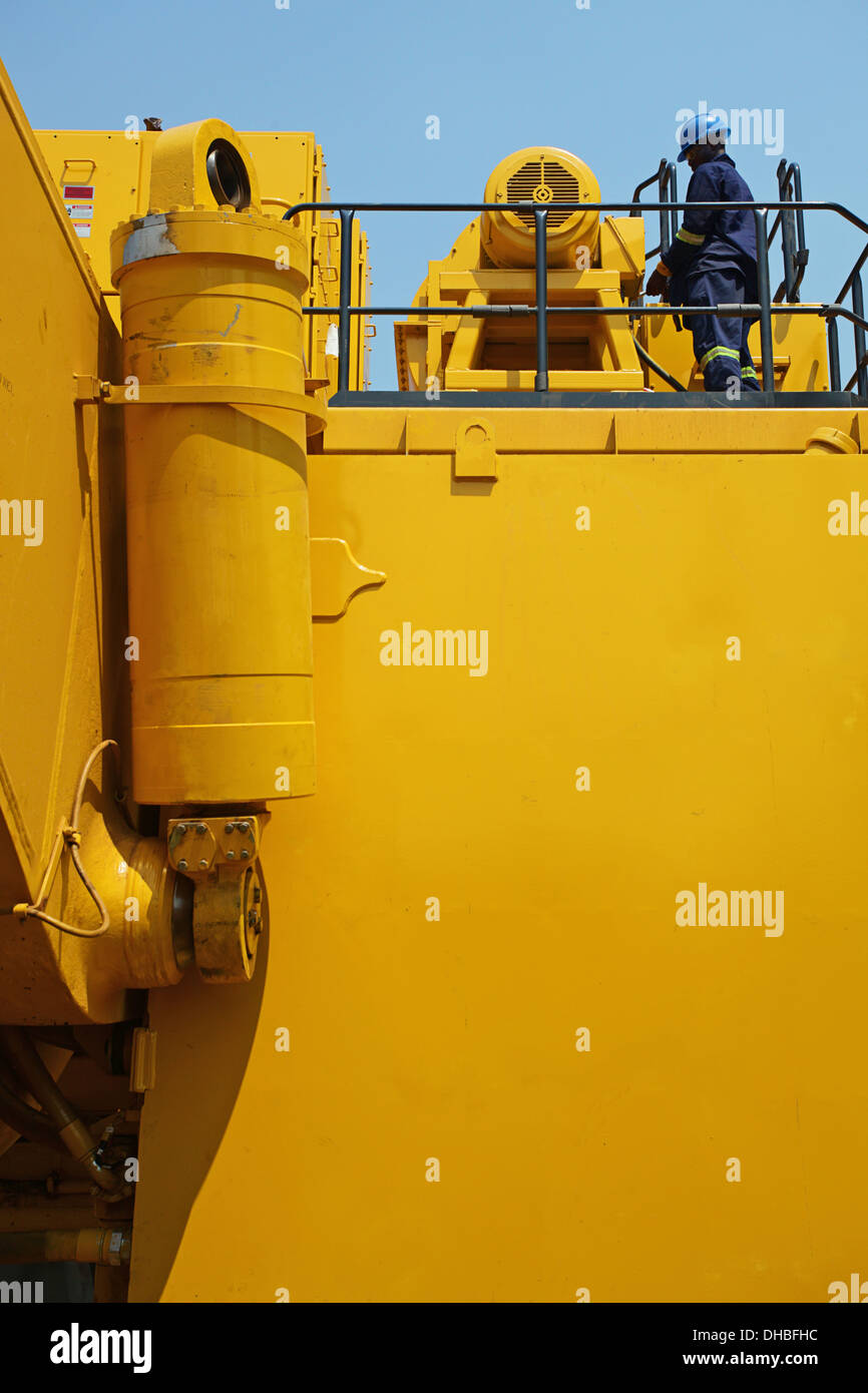 Mining in Africa - Stock Image