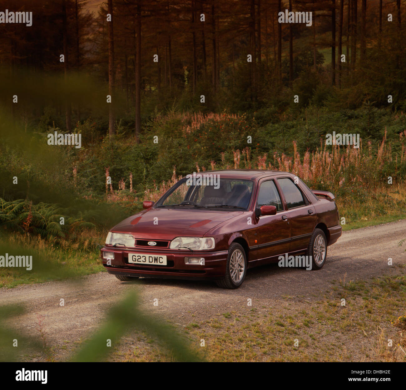 Ford Sierra Sapphire RS Cosworth 4x4 1990 - Stock Image