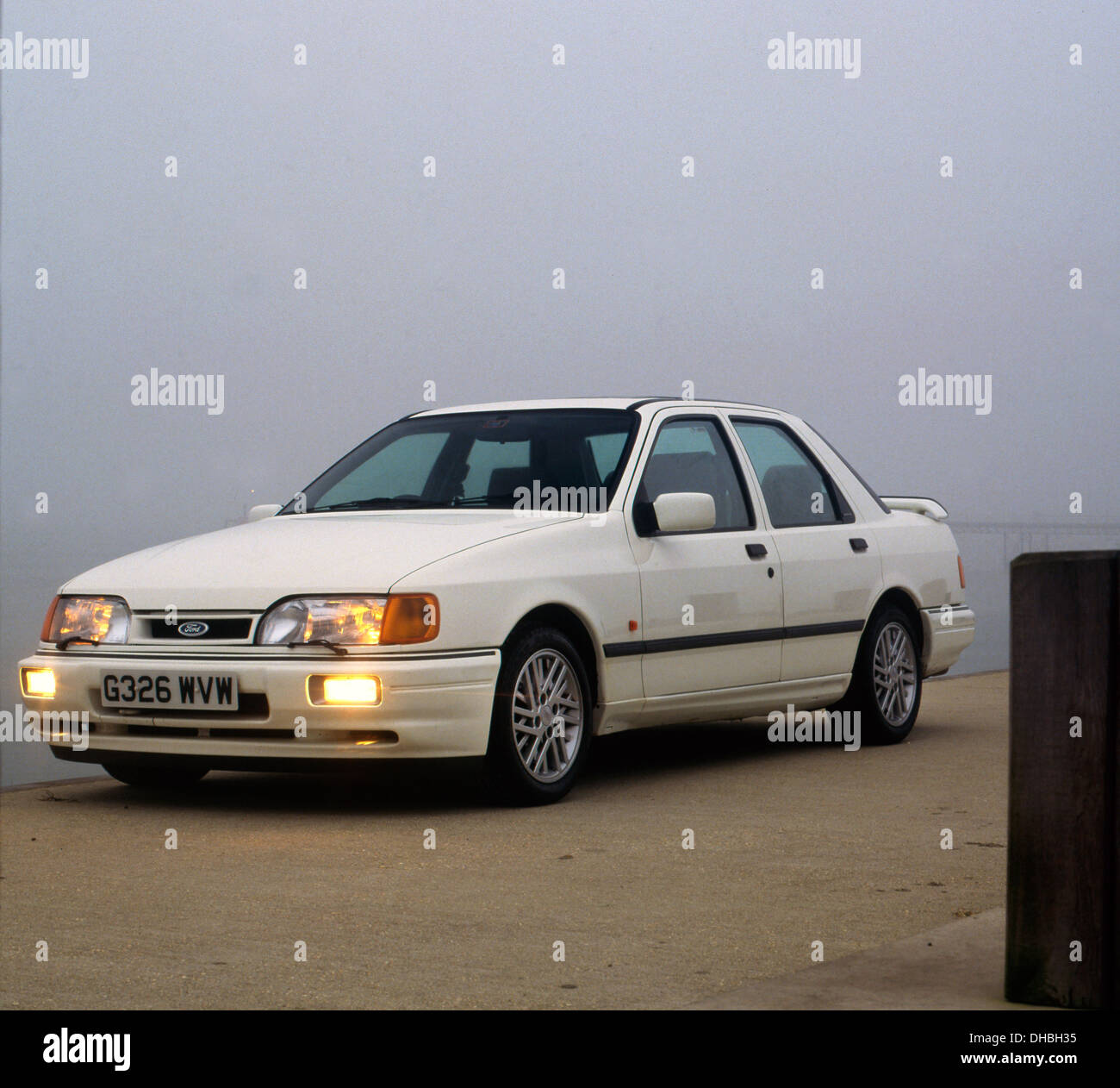 Ford Sierra Sapphire RS Cosworth 1989 - Stock Image