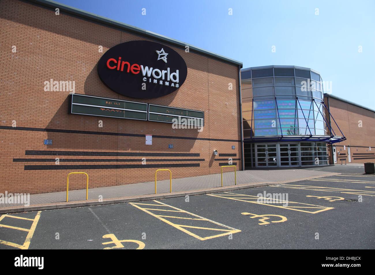Cineworld cinema in Shrewsbury - Stock Image