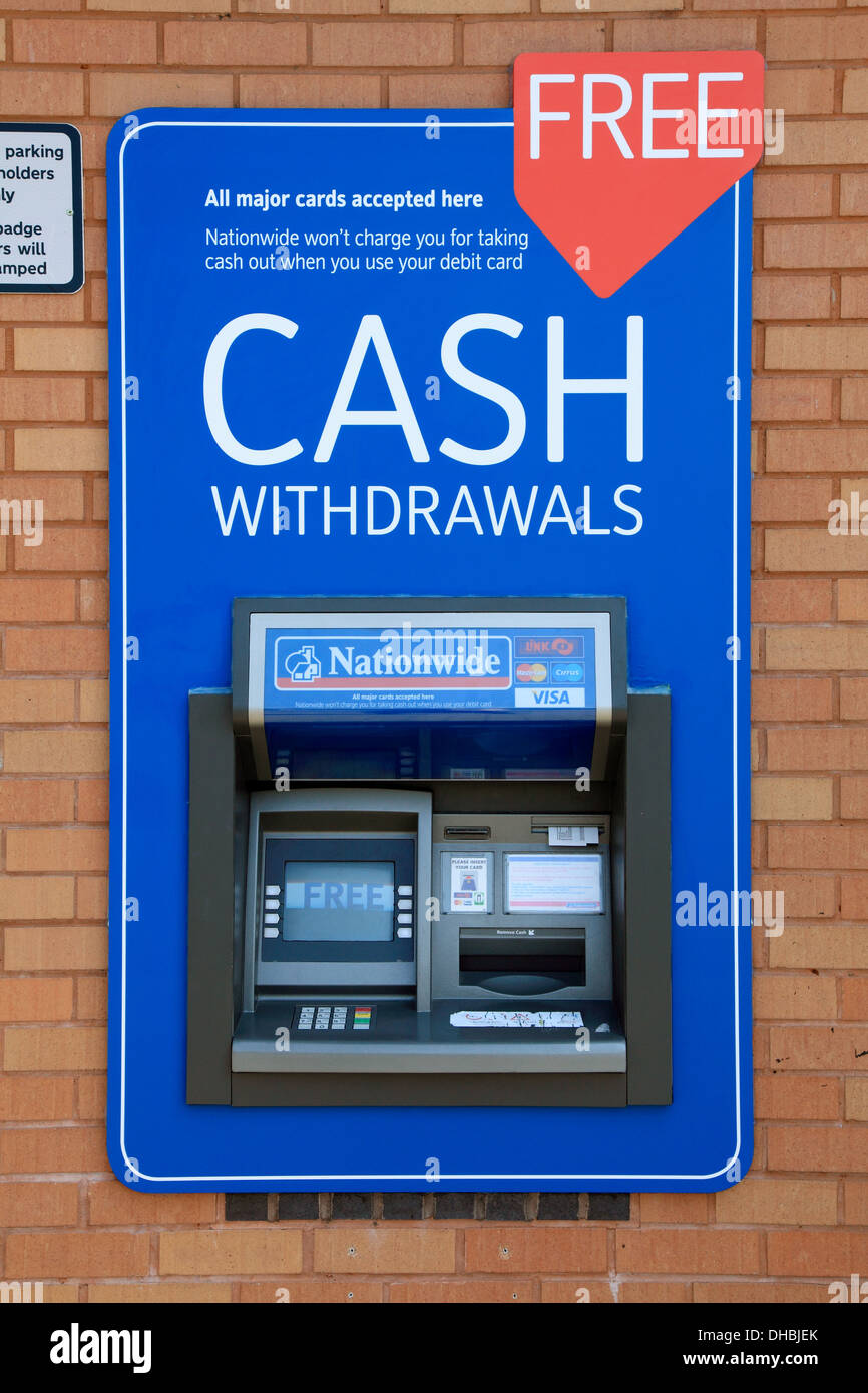 nationwide cash machine stock photo 62336251 alamy